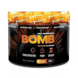 7 NUTRITION Bomb Pre ​​Workout - 240g