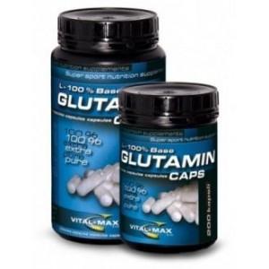 Vitalmax Glutamin L-100% Base caps