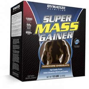 Dymatize Super Mass Gainer 5232g rich chocolate