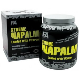 Fitness Authority Xtreme Napalm loaded with virtago 500g