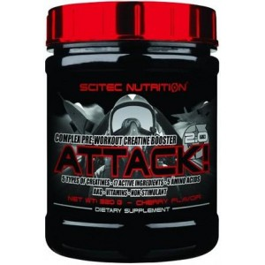 Scitec Nutrition Attack 2.0 320g