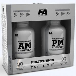 Fitness Authority Multi Vitamin AM + PM FORMULA