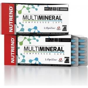 Nutrend Multimineral Compressed Caps 60 kapsulí