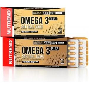 Nutrend Omega 3 plus softgel caps 120 tabliet