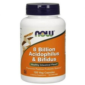 NOW - Acidophilus & Bifidus 8 Billion - 60veg caps PL