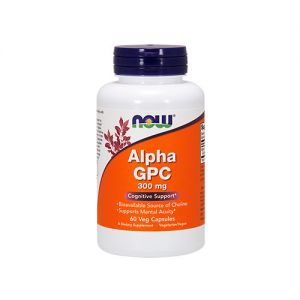 NOW  Alpha GPC 300mg - 60vcaps