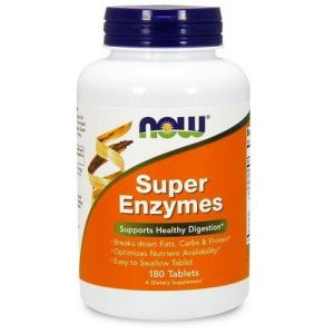 NOW - Super Enzymes - 180tabs.