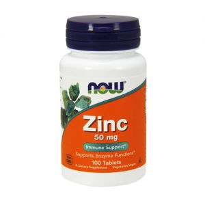 NOW - Zinc Gluconate - 100tab.