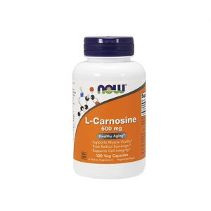 NOW - L-Carnosine 500mg - 100vcaps